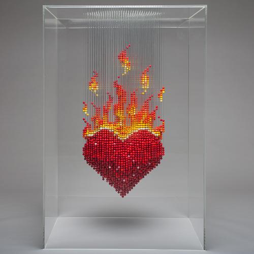 Burning heart - Natasja van der Meer